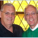 Rev. Danny Spears (r) and Richard Lofstrand (l)